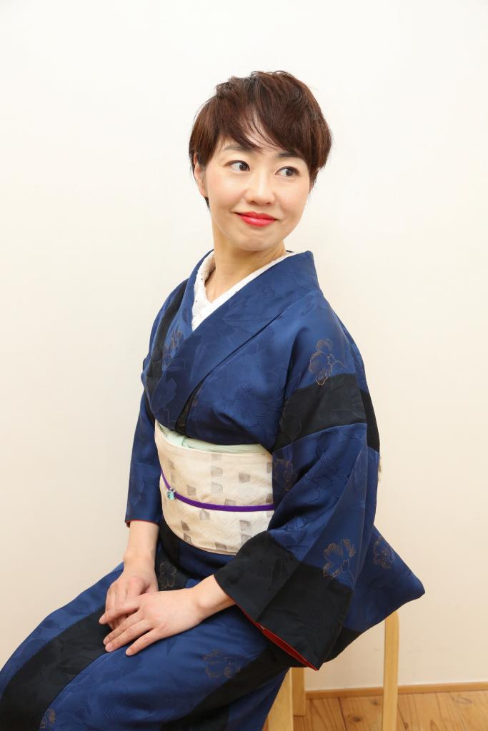 シリーズ:和装の人たち 和装コンサルタント 「上杉惠理子」 2