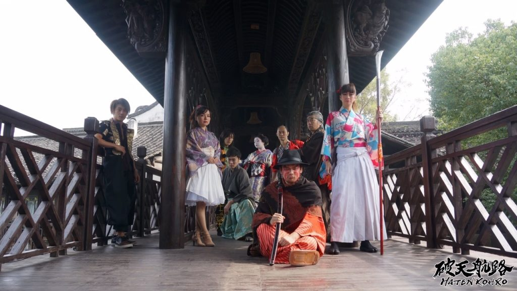 シリーズ和装の人たち 俳優「慈五郎」6