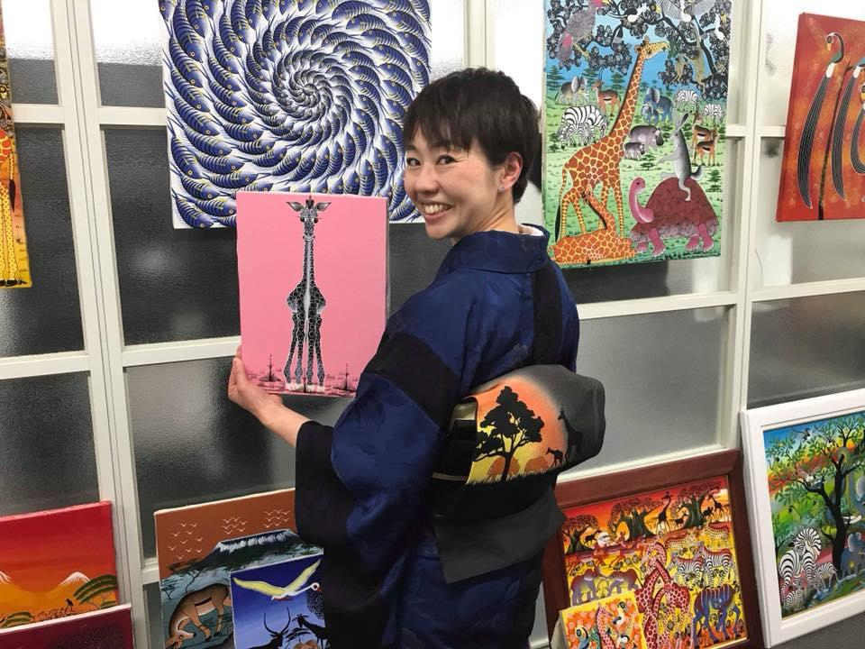 シリーズ:和装の人たち 和装コンサルタント 「上杉惠理子」 5