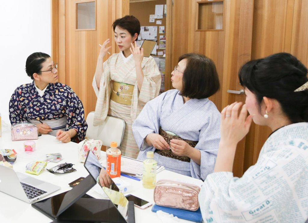 シリーズ:和装の人たち 和装コンサルタント 「上杉惠理子」9