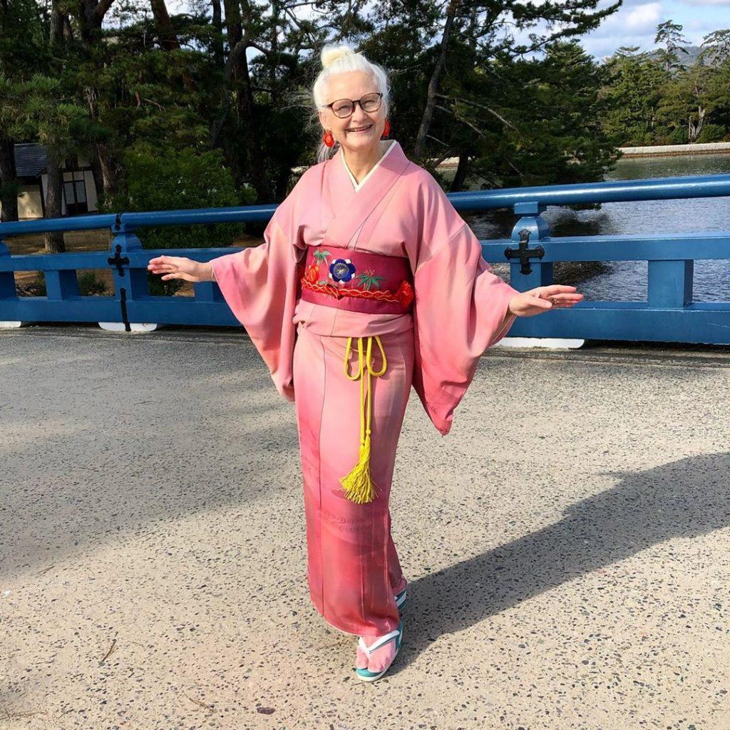 シリーズ和装の人たち 着物研究家「シーラ・クリフ」4