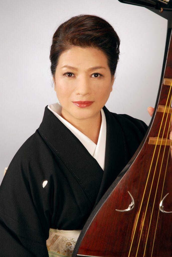 シリーズ和装の人たちシーズン2 琵琶演奏者「黒田 月水」1