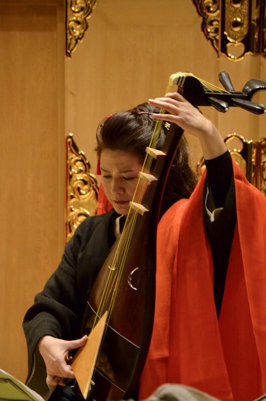 シリーズ和装の人たちシーズン2 琵琶演奏者「黒田 月水」3