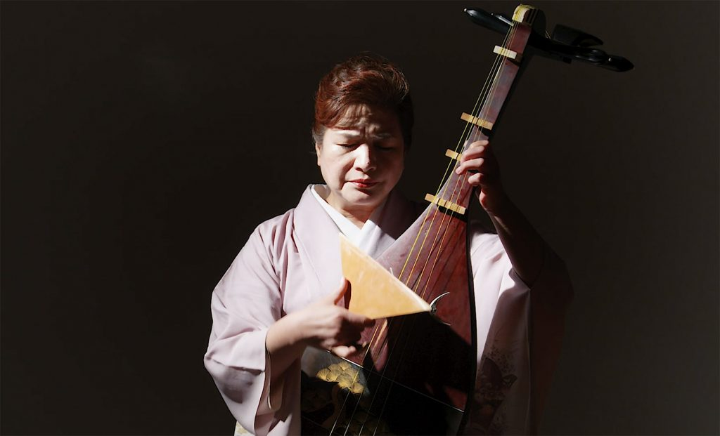 シリーズ和装の人たちシーズン2 琵琶演奏者「黒田 月水」5