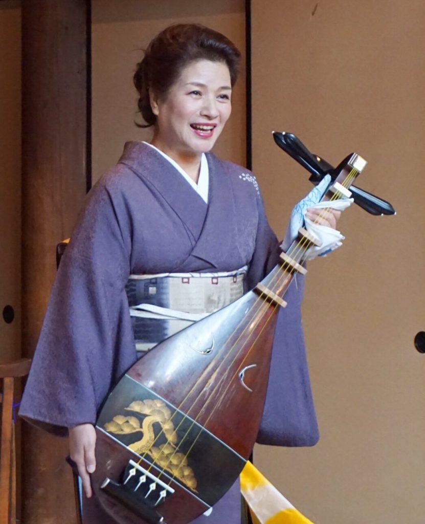 シリーズ和装の人たちシーズン2 琵琶演奏者「黒田 月水」4